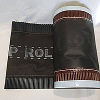 Коньковая вентиляционная лента Top Roll 310х5000 мм антрацит для керамической и цементно песчаной черепицы