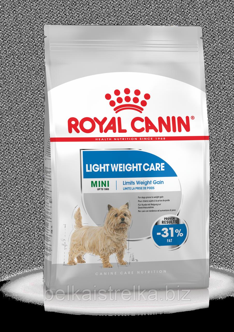 Royal Canin Mini Light Weight Care - корм для собак малых пород склонных к избыточному весу с 10 месяцев 3 кг