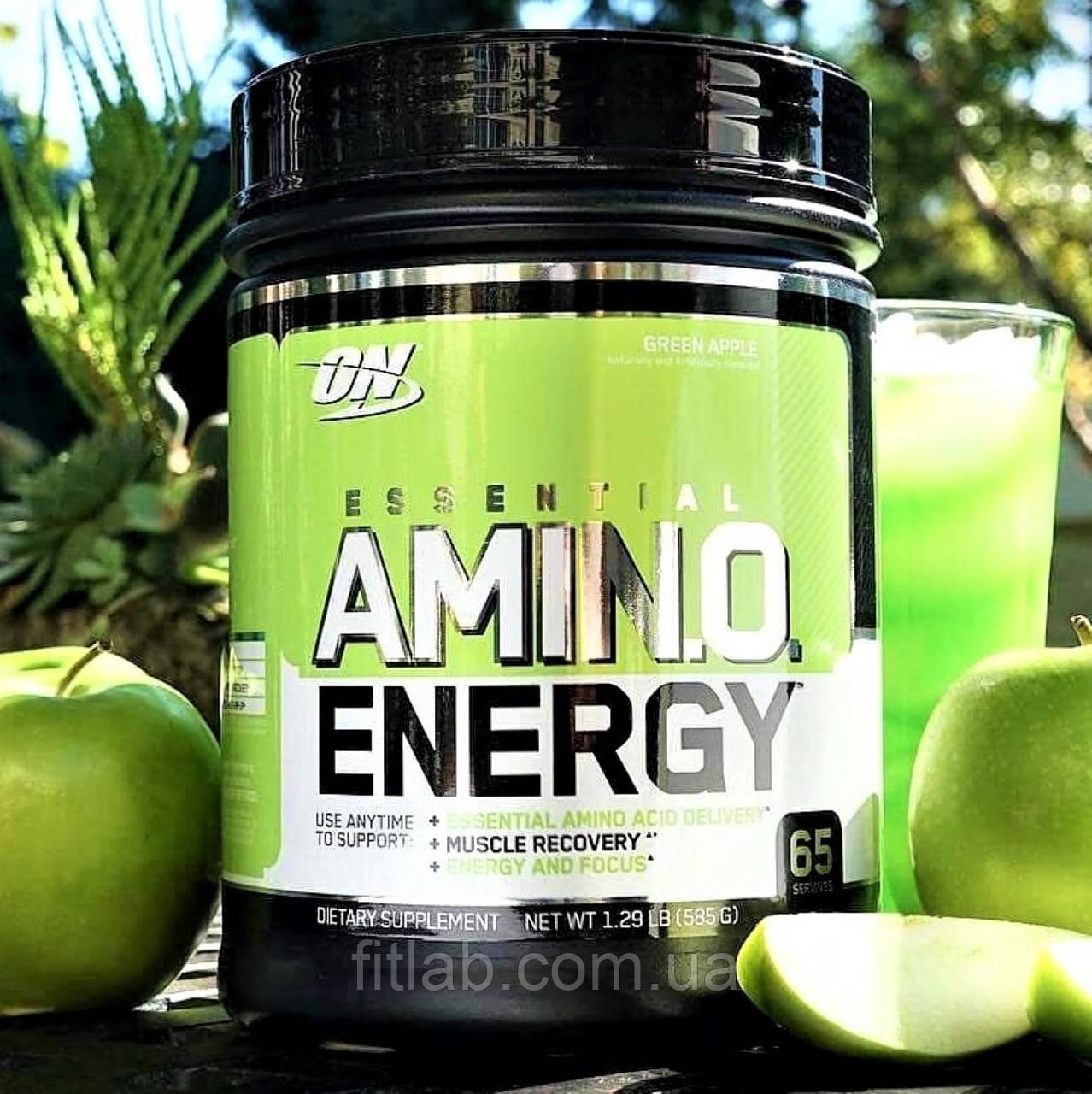 Аминокислоты Optimum Nutrition Amino Energy 585 g 65 порций Оптимум Амино Энерджи, ON энергетические