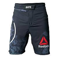 Шорты ММА UFC Reebok (чёрные)