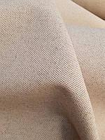 Льняная мебельная ткань натурального цвета с водо- масло- отталкивающей обработкой (шир. 150 см), фото 1