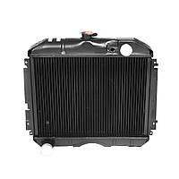 Радиатор водяного охлаждения Волга 24,31029 (3 рядн.медь) (пр-во Иран) 31029-1301010-33