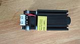 Лазерний модуль 3000 мВт. Лазер 3 Вт. Лазерна головка. Плата TTL - в комплекті, фото 2