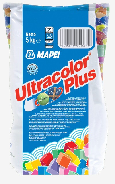 Фуга Mapei Ultracolor Plus 142 / 2 кг / коричневий