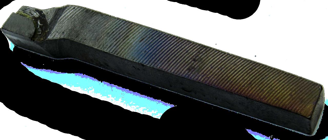 Резец проходной упорный-изогнутый 10х10х90 ВК8 ГОСТ18879-73