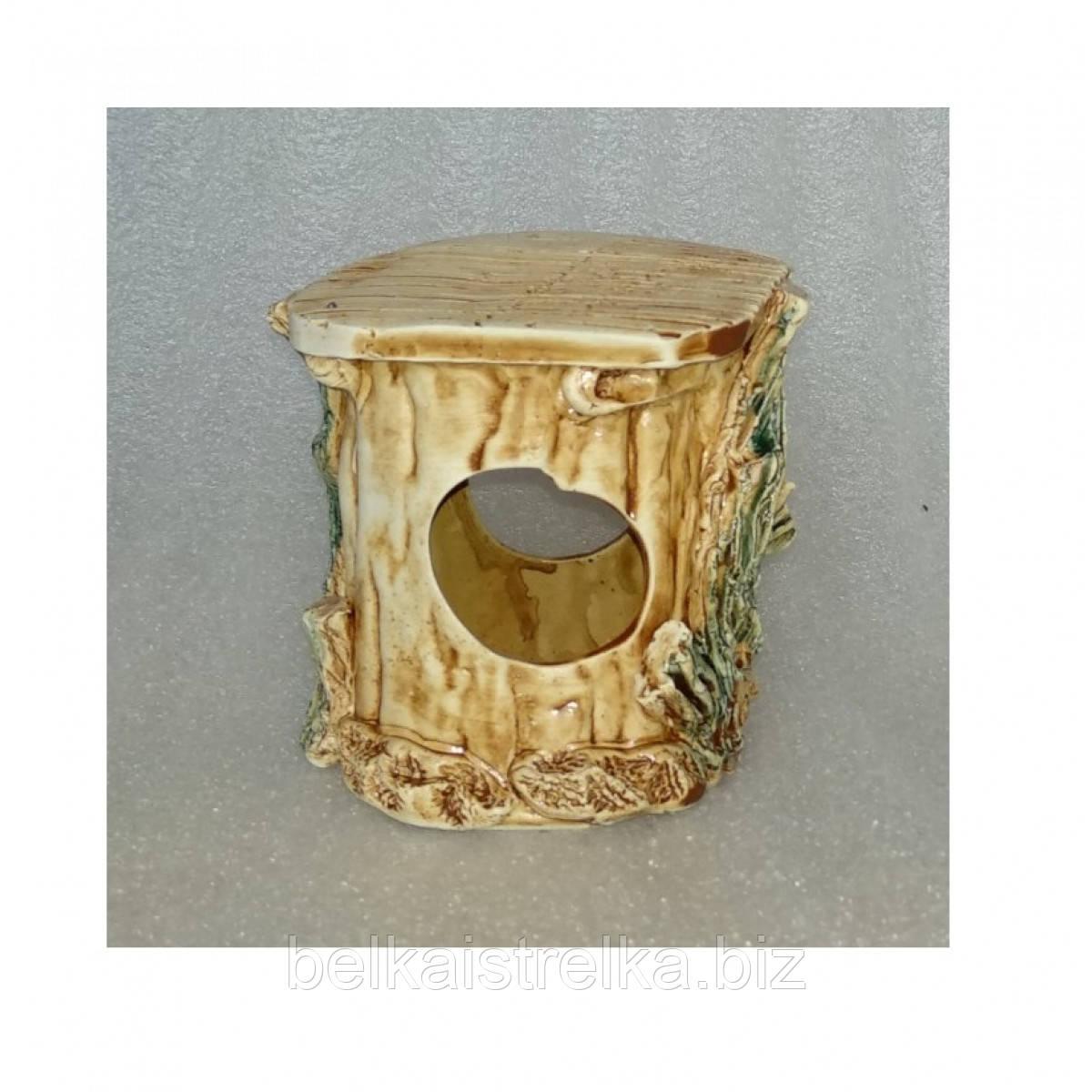Керамика для аквариума Черепашатник малый 9х9х10 см