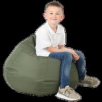 Кресло-мешок Груша Хатка средняя Хаки (подростковая)