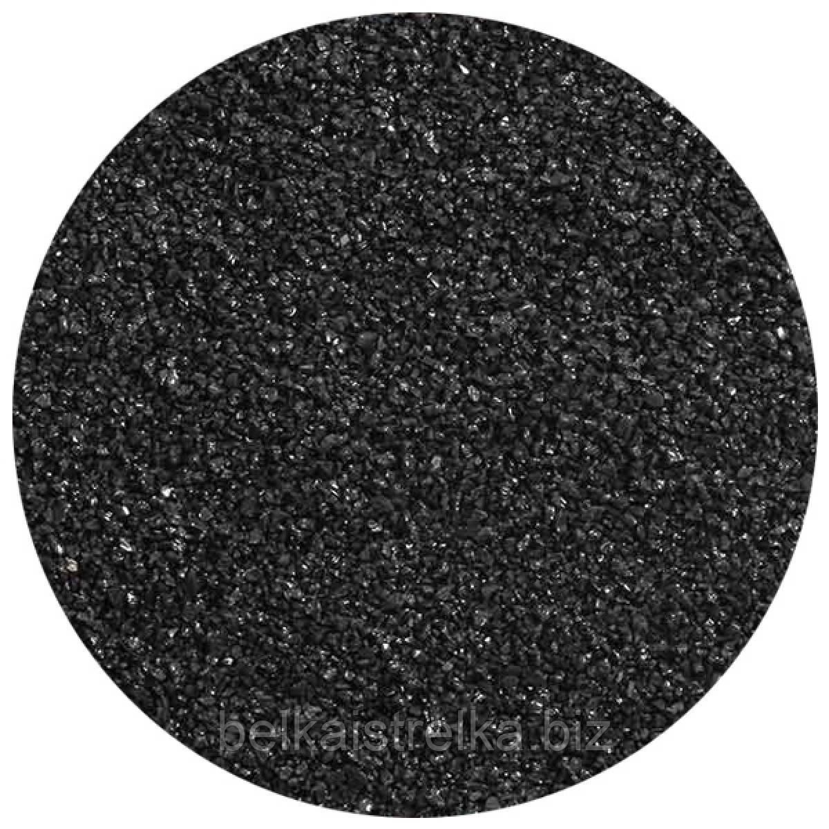 Грунт натуральний Чорний пісок 1-2 мм 1 кг