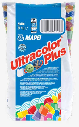 Фуга Mapei Ultracolor Plus 144 / 2 кг / шоколад, фото 2
