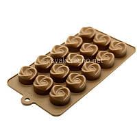 Силиконовая форма для конфет /  Силіконова форма для цукерок (спинер)