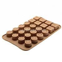 Силиконовая форма для конфет / Силіконова форма для цукерок (ассорти)