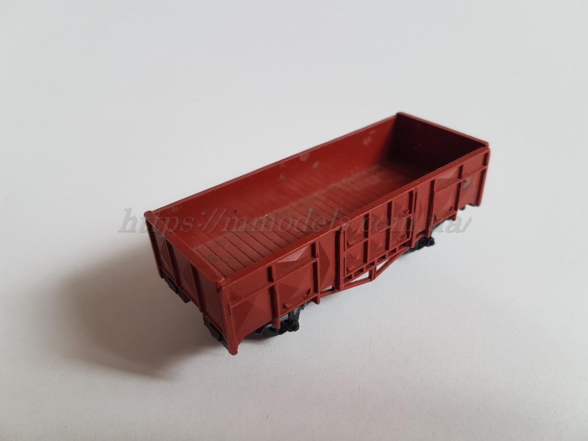 Fleischmann модель 2х осного полувагона под востановление, масштаба H0, 1:87