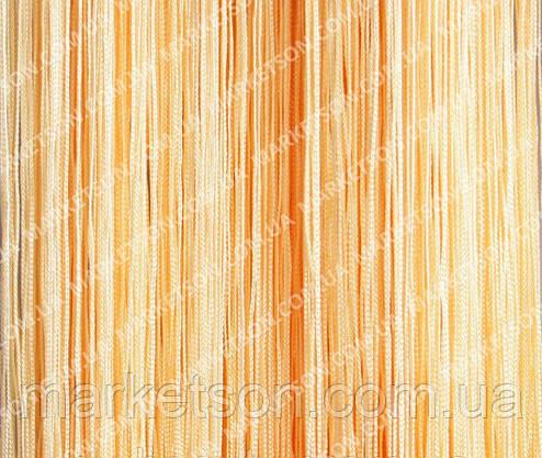 Шторы нити кисея, дождь, лапша без люрекса, фото 2