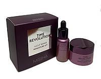 Антивіковий набір мініатюр для нічного догляду Missha Time Revolution Night Repair miniature kit