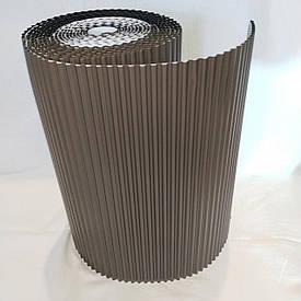 Лента для обработки примыкания алюминиевая Alu Max 300 х 5000 мм коричневы(8017) (Примыкание дымохода и стене)