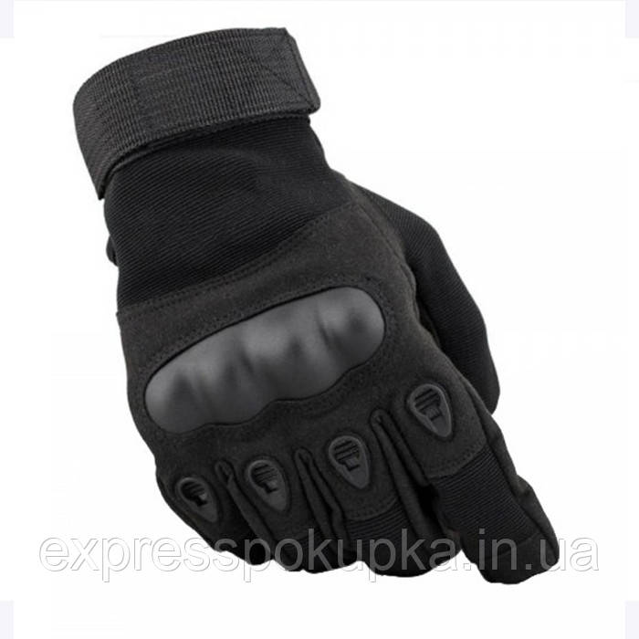 Перчатки тактические полнопалые Oakley Черные/Олива
