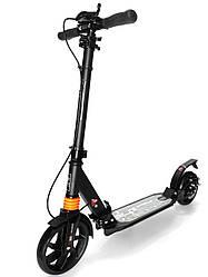 Самокат для взрослых и детей Scooter 001 с широкими колесами