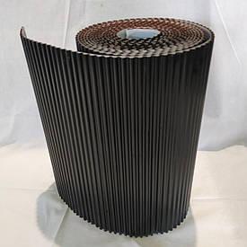Лента для обработки примыкания алюминиевая Alu Max 300 х 5000 мм черный (Примыкание дымохода и стене)