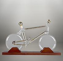 "Декантер, графин ""Велосипед"". Вип подарки для мужчин"