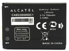 Аккумулятор (Батарея) для Alcatel One Touch 2012D CAB22B0000C1 (750 mAh) Оригинал