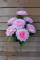 Искусственные цветы - Камелия букет, 52 см