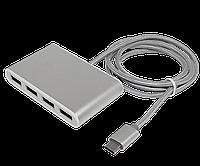 Type-C USB Hub на 4 порта Hoco HB3, фото 1