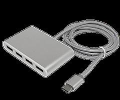 Type-C USB Hub на 4 порта Hoco HB3