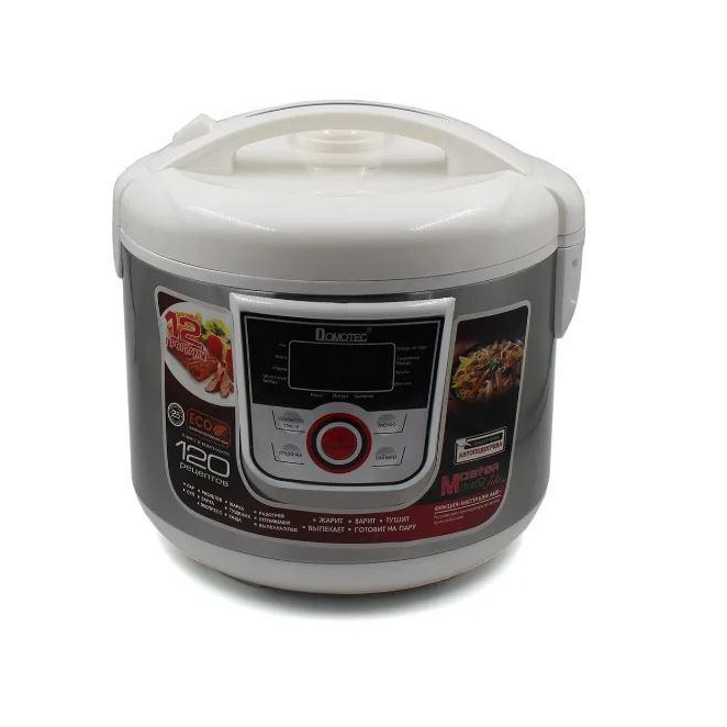Мультиварка Domotec MS 7727 5 л, 12 режимов приготовления