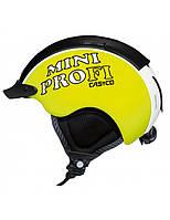 Горнолыжный шлем детский Casco MiniPro (MyStyle) neon yellow (MD), фото 1