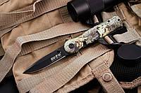 Cкладной нож 9071 современный компактный и легкий с клинком из высококачественной нержавеющей стали