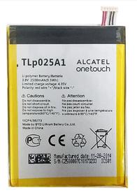 Аккумулятор (Батарея) для Alcatel One Touch 5054D TLp025A1 (2500 mAh) Оригинал