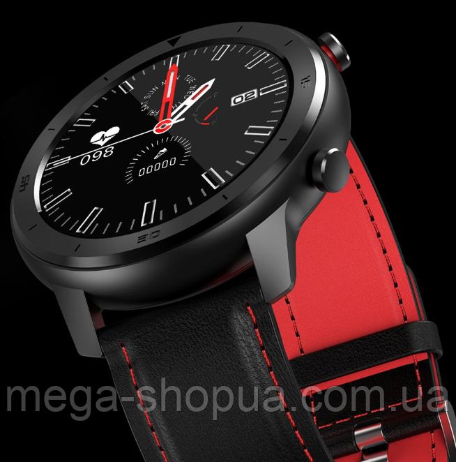 Сенсорные смарт-часы Smart Watch МН67-35 Black & Red, спорт часы, умные часы, наручные часы, фитнес браслет