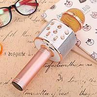 Беспроводной караоке  Bluetooth Микрофон WS-858B