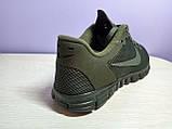 Мужские кроссовки в стиле найк Free Run 3.0 V2 Green хаки, фото 3