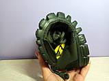 Мужские кроссовки в стиле найк Free Run 3.0 V2 Green хаки, фото 4