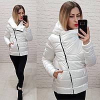 Куртка-парка женская oversize, модель  M523, снежный белый