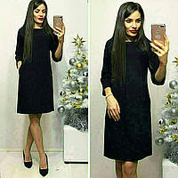 Платье арт.772 черного цвета / черный / черного цвета