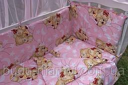 Бортики защита в детскую кроватку красивые расцветки