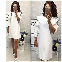 Платье модель 783/2 белый
