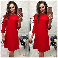 Платье модель 783/2 красный