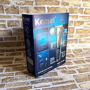 Профессиональная машинка для стрижки волос Kemei LFQ-KM-1628 | триммер для волос, фото 2