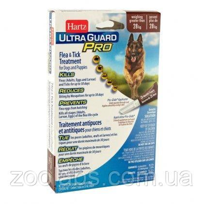 Капли от клещей и блох для собак Hartz Ultra Guard Pro (вес собаки от 28 кг; 1 пипетка)