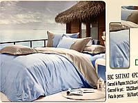 Однотонное постельное белье евро 220х240 см