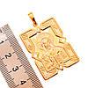 """Иконка Xuping """"Господь Вседержитель"""" из медицинского золота, позолота 18K + родий, 42458                               (1), фото 3"""