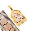 """Иконка Xuping """"Казанская Божия Матерь"""" из медицинского золота, позолота 18K + родий, 42457                    , фото 2"""