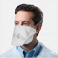 Респіратор захисна маска для обличчя FFP2 без клапана
