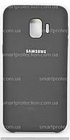 Силиконовая накладка для Samsung J260 J2 core 2018 черная