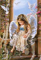 Пазлы на 1500 элементов Копия «Нежной любви», Сандра Кук (ангелочек), (Castorland, Польша)