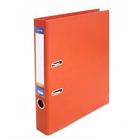 Папка-регистратор А4 LUX Economix, 70 мм, оранжевая