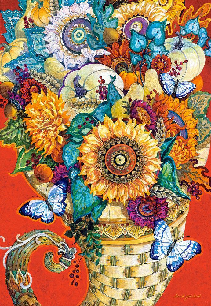 Пазлы на 1500 элементов Живопись. Цветы (картина), (Castorland, Польша)